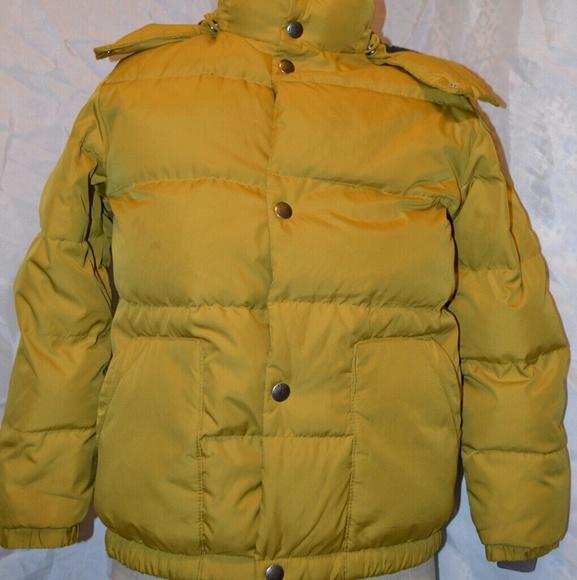 2feba354e99 GAP Jackets & Coats | Puffer M 8 Boys Winter Coat Hooded Zip Up ...